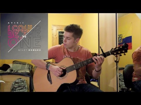 Avicii vs Nicky Romero - I Could Be The One ( Solo Acoustic Guitar )