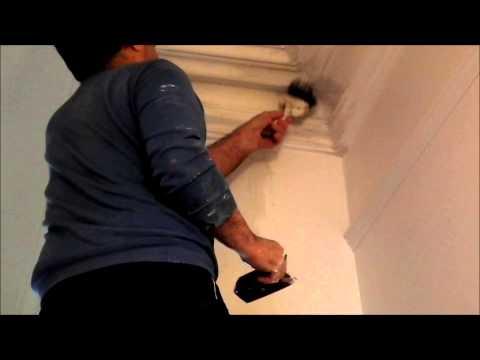 Plastering Victorian Cornice Repairs