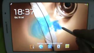 Samsusng Galaxy Note 8 N5110 - Efeito tinta guache - PT-BR - Brasil