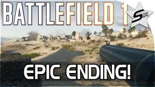 Battlefield 1 EPIC ENDING! - Conquest on Suez Canal Gameplay