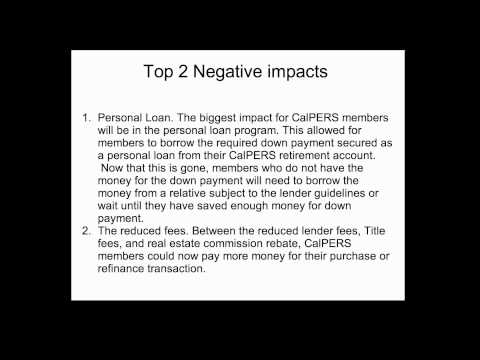 CalPERS Loans and Home Loans Discontinued2.mp4