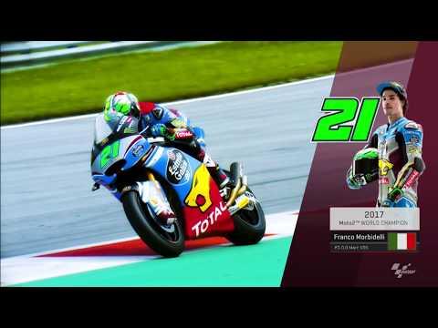Franco Morbidelli crowned 2017 Moto2™ World Champion!