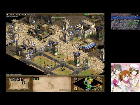 Age of Empires II - Attila the Hun 1: The Scourge of God (Hard) in 4:49