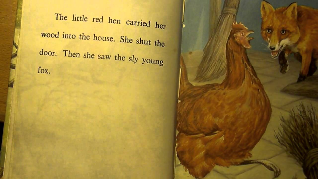 5at fairy story the sly fox and the little red hen youtube