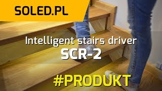 Intelligent stairs driver - Stairs lighting Illumination - Stairs Light Controller - SCR-2