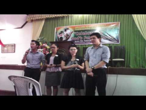4 God's Glory Quartet - Dalawang Beses (Two Times Your Mine Tagalog Version)