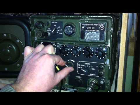 Clansman VRC-321 First QSO - 6watts - Southern Cross DX Net 14.244mhz [HD] - M0VST