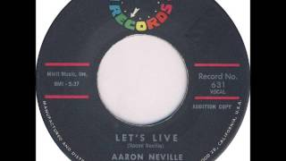 Watch Aaron Neville Lets Live video
