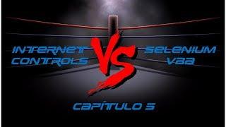 Internet Controls VS Selenium - Capítulo 5 - Série Versus
