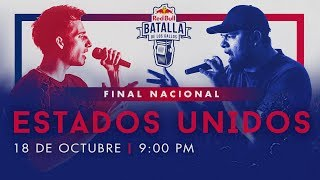 Final Nacional Estados Unidos en vivo | Red Bull Batalla de los Gallos