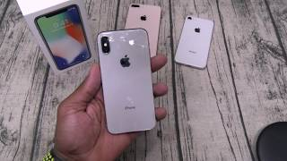 iPhone X Unboxing And First Impressions