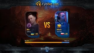 StarCraft 2 LotV Cybbet Race Wars 2016 Day 3 Match 6: Bly vs Miszu