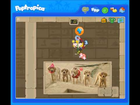 Poptropica - Treasure Buddies Advertisement