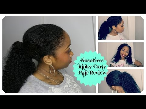 Nosotress Kinky Curly No Sew. No Glue Super Easy Install Review   #SamoreLoveTV