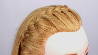 Косичка - ободок. Headband Braid