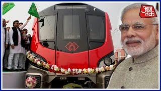 Download Shatak Aaj Tak: We Have Started Metro Train, Where Is Your Bullet Train, Akhilesh Slams Modi 3Gp Mp4