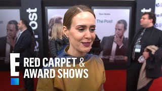 """Sarah Paulson Talks Working With """"Extraordinary"""" Actors 