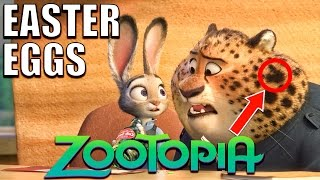 103 Easter Eggs of ZOOTOPIA You Didn