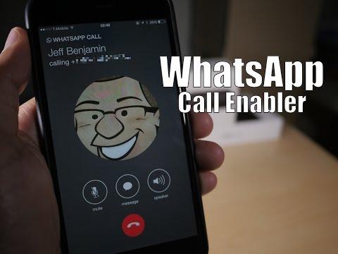 Cydia Tweak: WhatsApp Call Enabler - iOS 8.2 & 8.1.2 Taig/PP Jailbreak Compatible