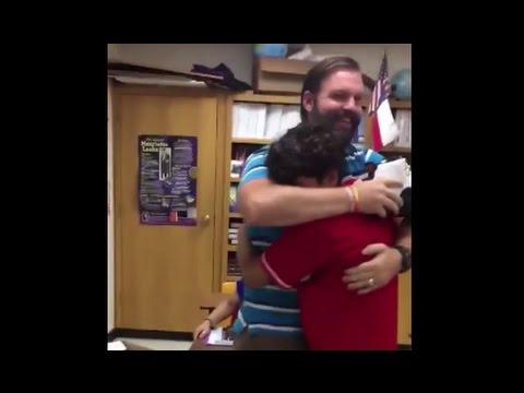 Student Surprises Teacher with Dream Shoes