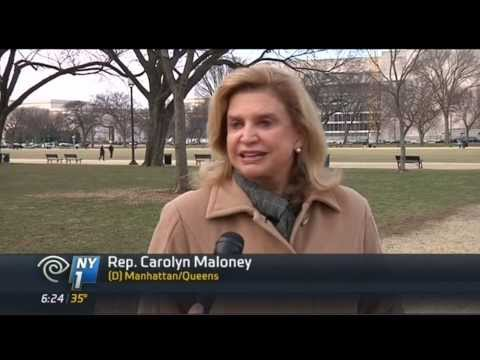 Carolyn Maloney Continues Push for National Women's History Museum (NY1)