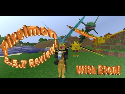 Pixelmon 2.5.7 Review! Legendary Spawns and More!