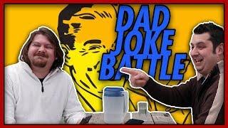 Dad Joke Bad Joke Face Off | Try Not to Laugh Challenge