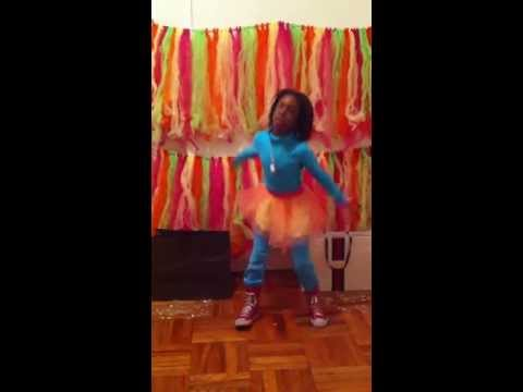Tracie- Ann Dancing To Omg Girlz Pretty Girl Bag video