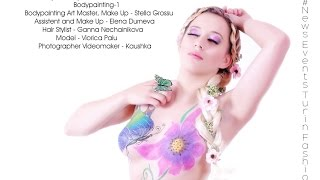 Bodypainting Torino - primo progetto NewsEventsTurinFashion. NET