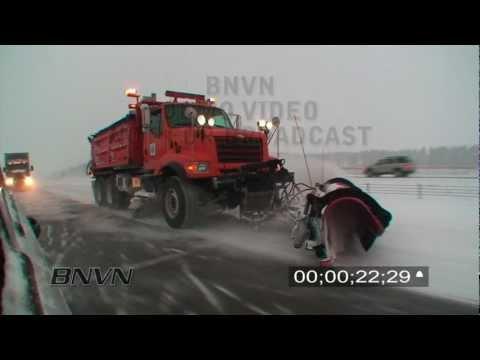 12/20/2008 Winter Storm Travel Hazard Video