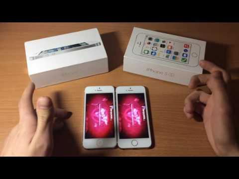 iPhone 5 vs. iPhone 5S - Сравнение ! Что же купить?