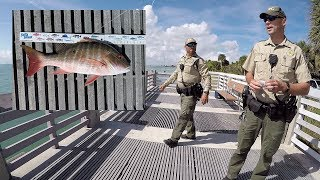 Almost Legal Mutton - Florida Wildlife Officers (FWC) Show Up!