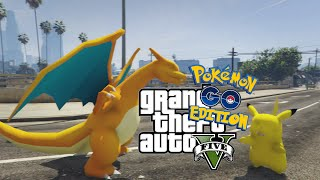Grand Theft Auto 5 - Pokémon Go Mod