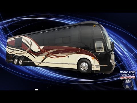 2015 Prevost Luxury Motor Coach Review at MHSRV.com