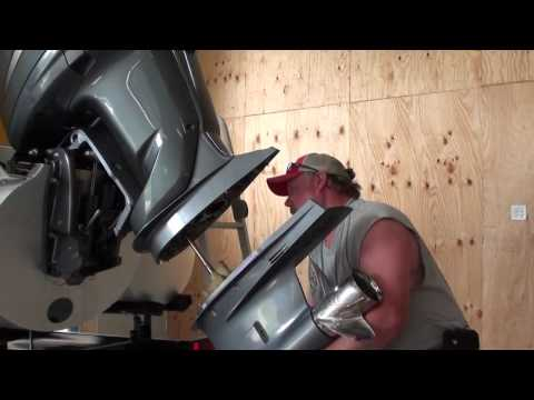 Pt.2 Yamaha F250 Outboard Water Pump Impeller Replacement At D-Ray's Shop