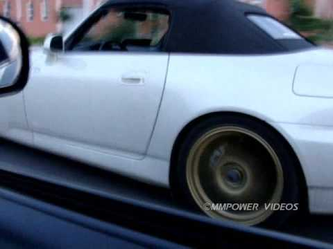 Honda AP2 S2000 vs Honda Civic EP3 TypeR Rolling & Drag By MMPower