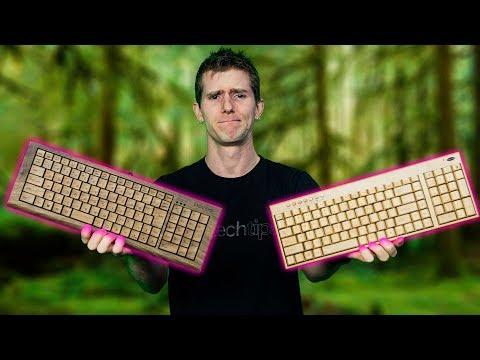 $1,400 Wooden Keyboard vs. a $40 one