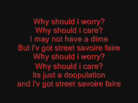 Oliver And Company (why Should I Worry) Lyrics video