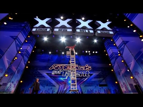 America's Got Talent 2016 57 Y.O. Acrobatic Balancer Full Audition Clip S11E02