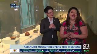 The Seattle Asian Art Museum reopens this weekend