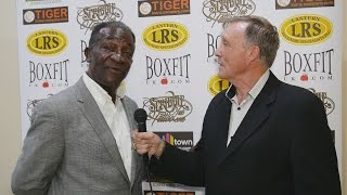 Boxing Legends Maurice Hope & John H Stracey on IBA Fight Night