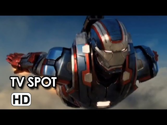 Iron Man 3 Official TV Spot #12 - Robert Downey Jr