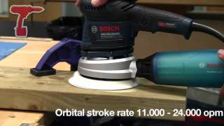 UNBOXING - Brand New Bosch GEX 125-150 AVE Random Orbit Sander in L-Boxx