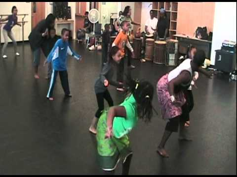 Delou Africa, Inc. - Education Outreach Programs: Children Learn West African Dance  'Funga'