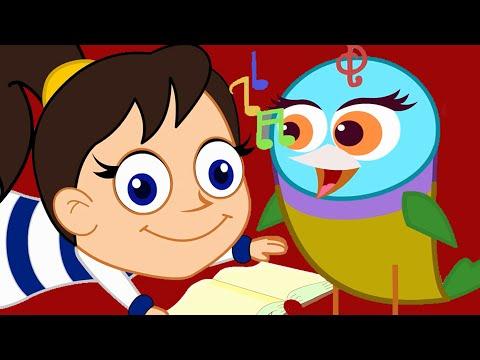 Mini mini bir kuş donmuştu | Mini mini bir kuş Şarkısı + 5 Çocuk Şarkıları Daha | Balon TV