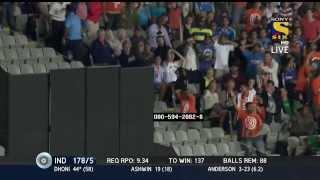 MAHENDRA SINGH DHONI SLAMS A HALF CENTURY | NEW ZEALAND VS INDIA | 3RD ODI | 25 JAN 2014
