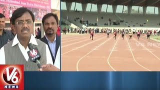 Govt Advisor G Vivek Attends For 38th National Masters Athletics Championship Finals | V6 News
