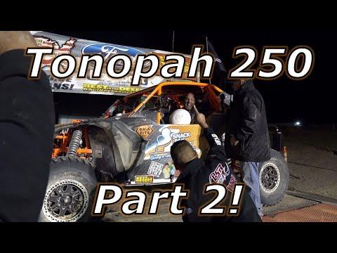 Desert racing an X3, ripping a Ferrari 458, Tonopah 250 part 2!