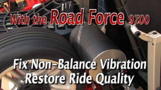 """ Hunter Road Force® GSP9700 Diagnostic Wheel Balancer """