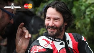 """I wanted to be a pirate!"": Keanu Reeves' first FOS Hillclimb"